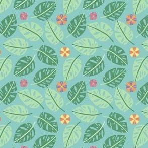 Pastel Tropical Jungle