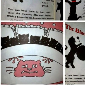The Black Cat Band (vintage children's book)