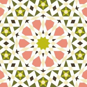 decagon star : dim sum chinoiserie mosaic