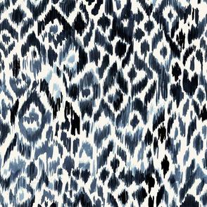 Indigo Tribal Leopard