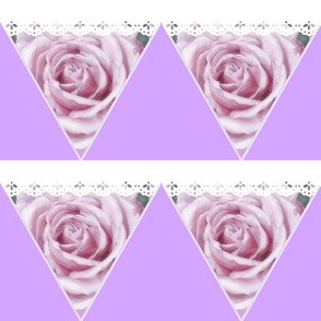 Roses Mini Bunting Parties