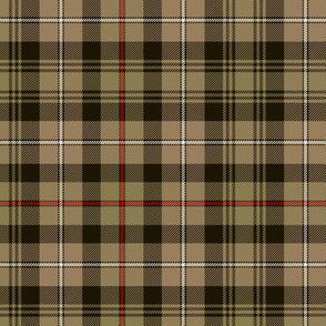 Mackenzie hunting tartan, ancient brown