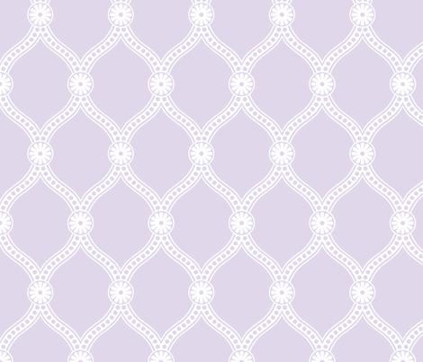 Prima Donna - Lavender fabric by penina on Spoonflower - custom fabric
