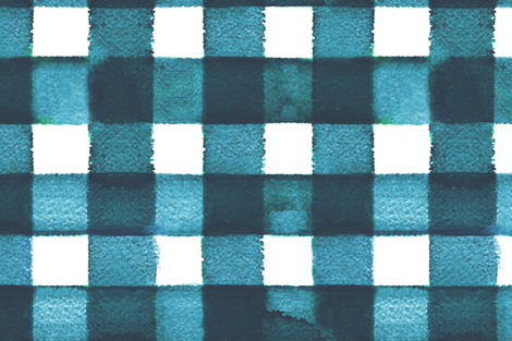 cestlaviv_18x18_largegingham_figi_A 150 fabric by cest_la_viv on Spoonflower - custom fabric