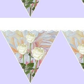 Heavenly Rose Bunting
