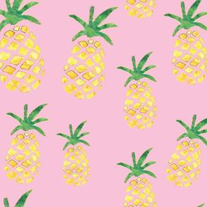 Pineapple Print - Pink