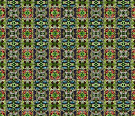 Butterfly Garden fabric by jeannie44 on Spoonflower - custom fabric