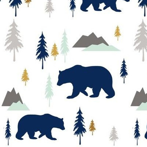 Bears Mountains Forest