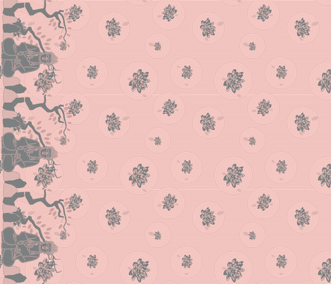 Buddha Garden  fabric by doodlebymeg on Spoonflower - custom fabric