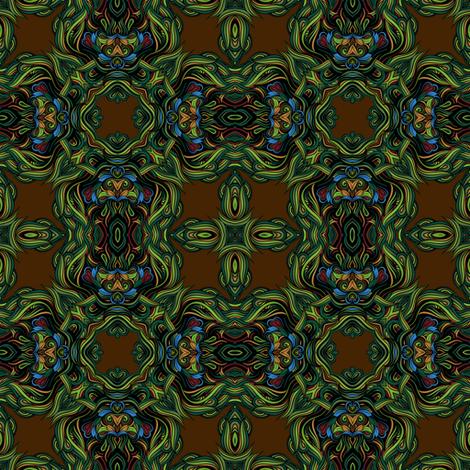 chocolate rococo II fabric by janbalaya on Spoonflower - custom fabric