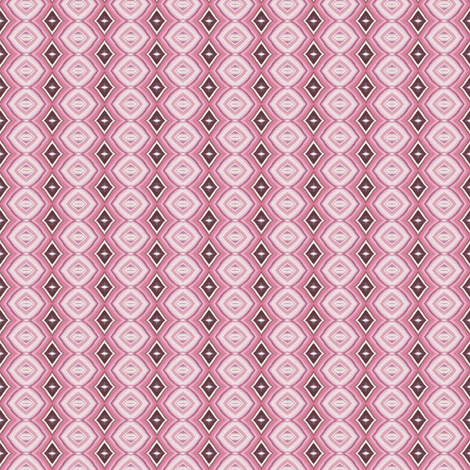 Circles and Diamonds fabric by lilafrances on Spoonflower - custom fabric