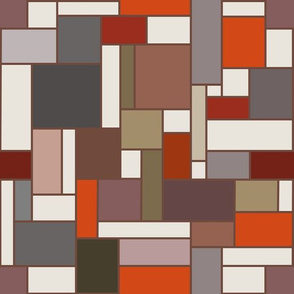 March Landscape - Going Mondrian