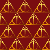 Scarlet & Gold House Hallows