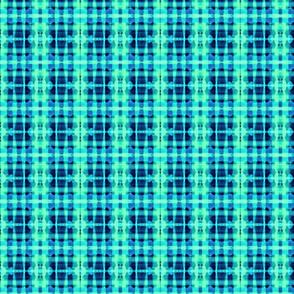 Blue-Green Plaid