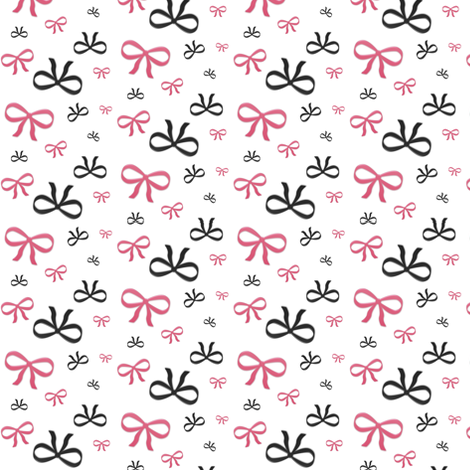 Ribbbon Bows fabric by mmarie-designs on Spoonflower - custom fabric