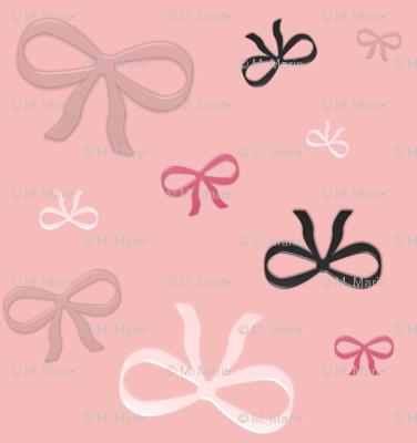 Ribbon Bows (pink variant)