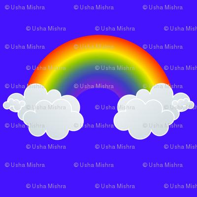 Rainbows in Blue