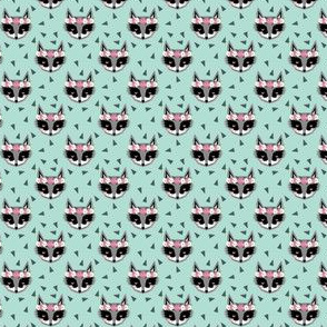 raccoon mint flowers florals spring cute girls