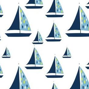 Summer Nautical Sailboat