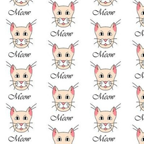 The Cat's Meow -Pink