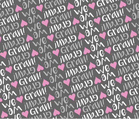 personalised name design - minky love blanket fabric by spunkymonkees on Spoonflower - custom fabric