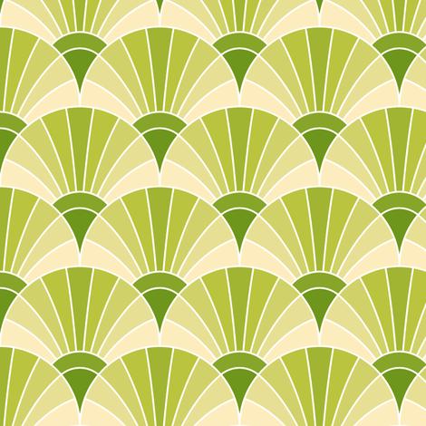 05287509 : fan scale : apple juice fabric by sef on Spoonflower - custom fabric