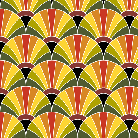 05287510 : fan scale : autumn beauty fabric by sef on Spoonflower - custom fabric