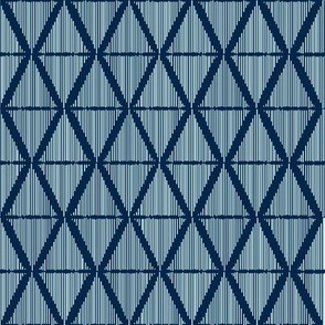 Diamond Ikat Blue