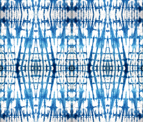 Shibori diamonds fabric by alison_janssen on Spoonflower - custom fabric