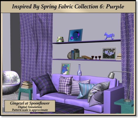 Solid Light Bright Purple