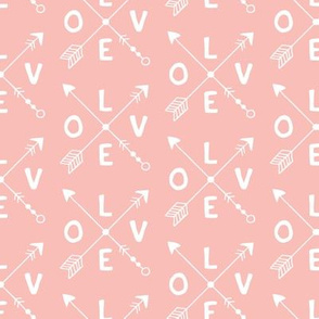Cupid love romantic indian summer arrows valentine design girls pink