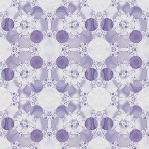 Purple Circles Geometric