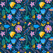 Tropical wildflowers