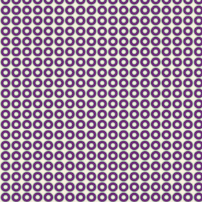 Eggplant Washers Dots