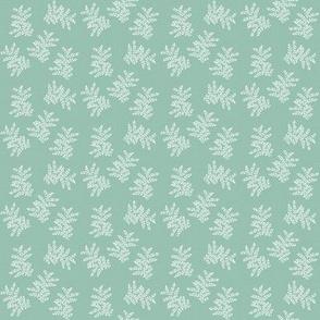 Delicate Fern, Eucalyptus Green
