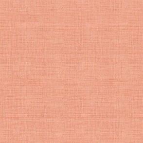 Linen, Bright Coral