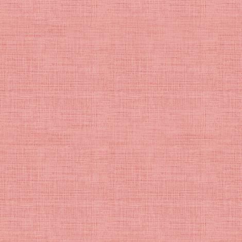 Linen, Warm Pink fabric by thistleandfox on Spoonflower - custom fabric