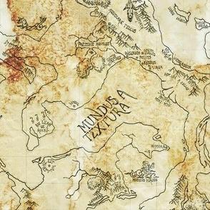 Rustic Map
