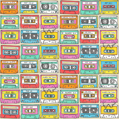 Nostalgia Smaller Audio Music Mix tape