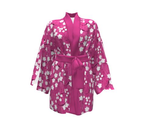 Sumi-E Inspired Sakura Blossoms
