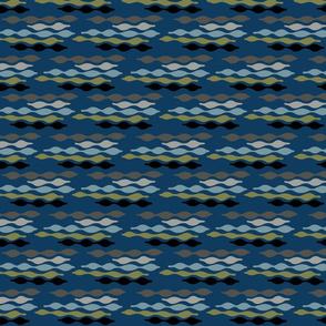 seed pod - blue