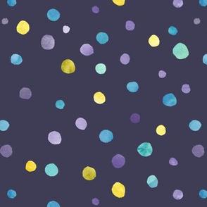 Waterclor dots
