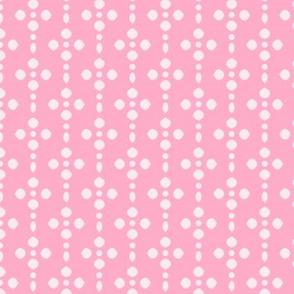 Pink Petal - Half Drop