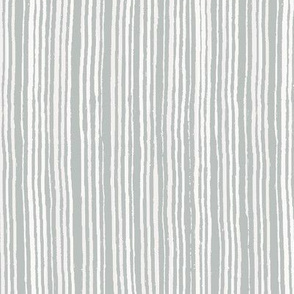 Painted Stripes - Shades of White