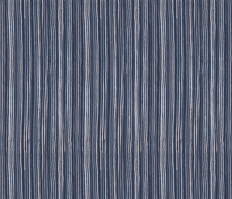 Painted Stripes - Blues fabric by anniemathews on Spoonflower - custom fabric