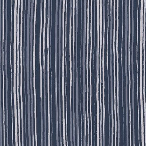 Painted Stripes - Blues