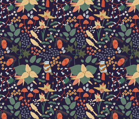 Cascadia - Alpine fabric by abbyhersey on Spoonflower - custom fabric