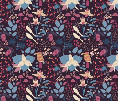Cascadia - Empire fabric by abbyhersey on Spoonflower - custom fabric