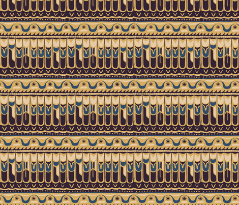 Totem - Empire fabric by abbyhersey on Spoonflower - custom fabric