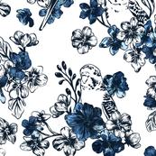PARAKEET GEO FLOWERS
